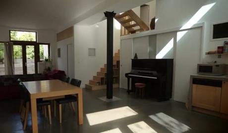 Teva Déco : Signifier les espaces de la pièce de vie d'un loft