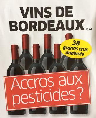 Les grands crus, les pesticides : un accord classique avec le Canard