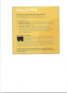EXPOSITION BOUVRON (LOIRE-ATLANTIQUE ) du 12au 21 JANVIER...