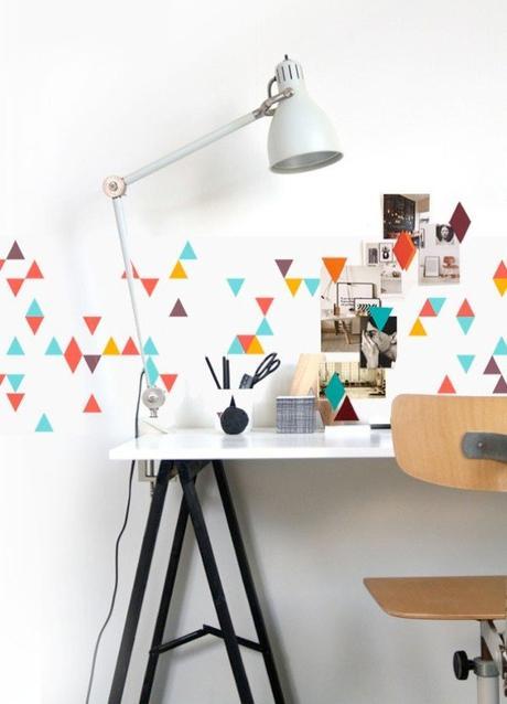 papier peint magnetique aimante coin bureau blog