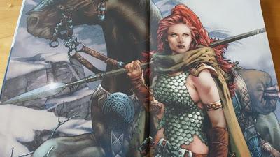 Red Sonja, Le trône de faucon de Marguerite Bennett et  Aneke et Diego Galindo