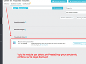 [PrestaShop 1.7] Module pour ajouter facilement contenu l'accueil