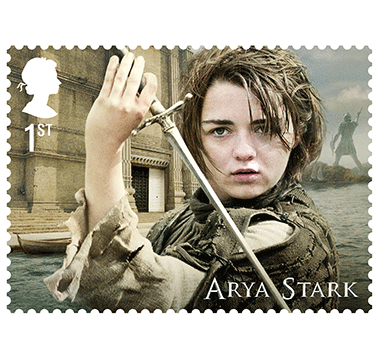 La Poste britannique lance une collection de timbres Game of Thrones
