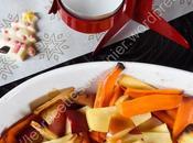 Panais, carottes pommes rôtis miel Honey Roasted Parsnip, Carrot Apple