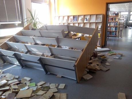 La bibliothèque de la peur !