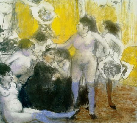 Degas - La fête à la patronne, 1878/1879