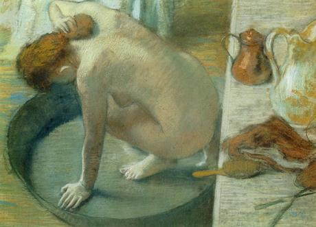 Degas - Le Tub, 1886
