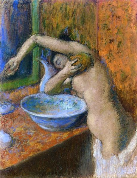 Degas - Femme à sa toilette, vers 1892
