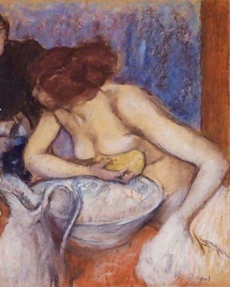 Degas - Après le bain, vers 1890
