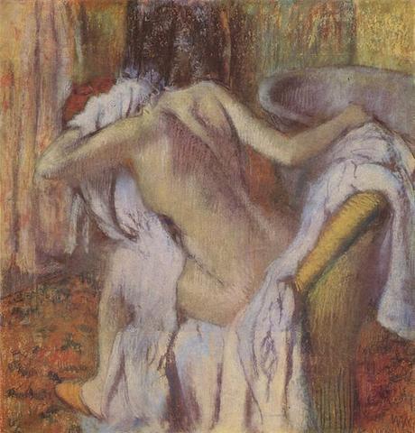Degas - Femme s'essuyant, 1890/1895