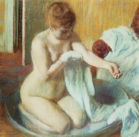 Degas - Femme s'essuyant, 1888