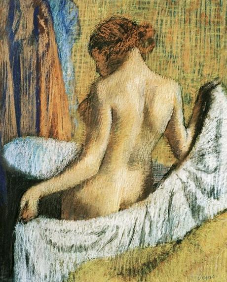 Degas - Femme à la serviette, 1898