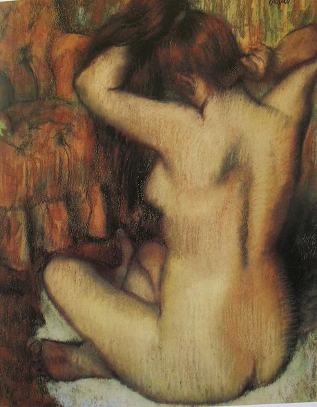 Degas - Femme nue se coiffant, 1886/1889
