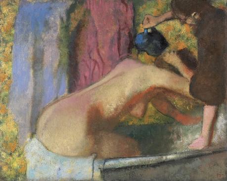 Degas - Femme se baignant, 1896