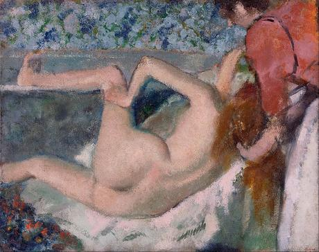 Degas - Après le bain, 1895