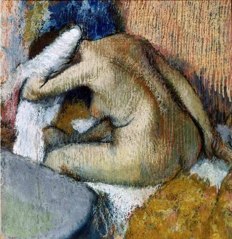 Degas - Après le bain, 1896/1898