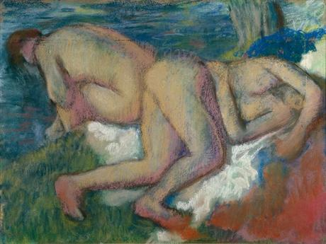 Degas - Deux femmes au bain, 1895