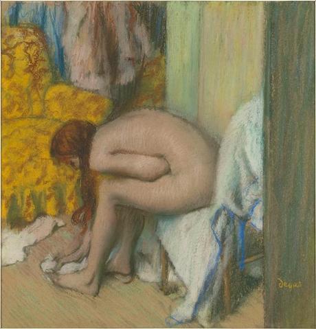 Degas - Une femme s'essuyant les pieds, 1890