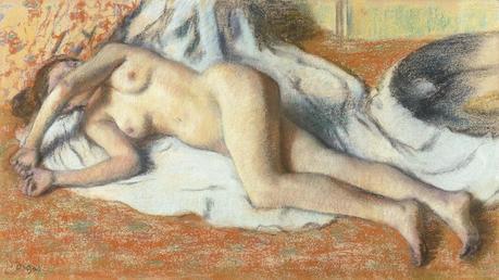 Degas - Femme nue couchée, 1885