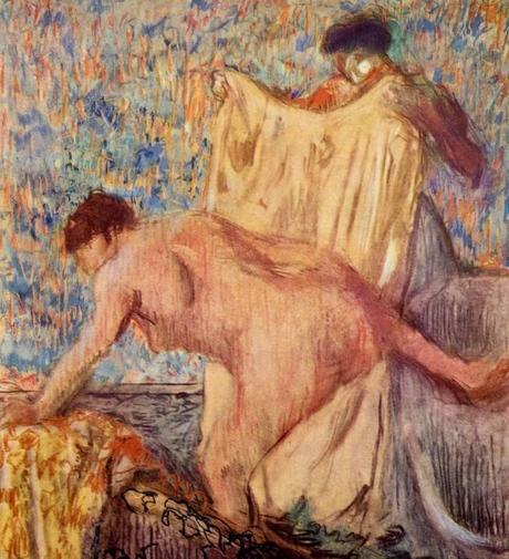 Degas - Femme sortant de son bain, 1900