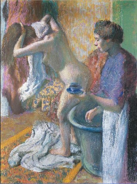 Degas - Le petit déjeuner à la sortie du bain, 1895/1898