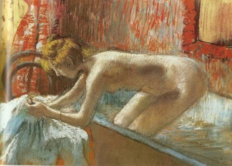 Degas - Femme sortant de son bain, 1892