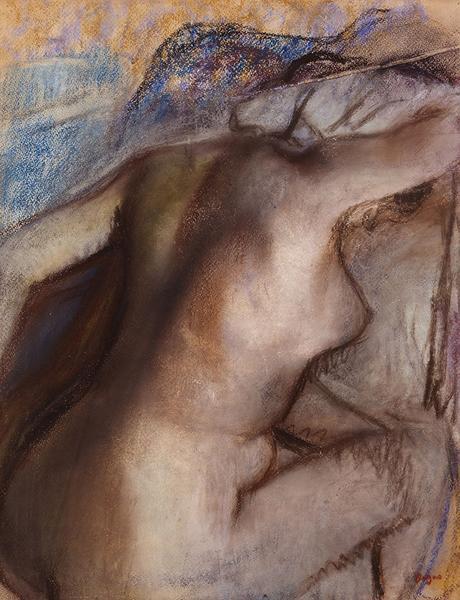 Degas - Après le bain, femme s'essuyant, 1884