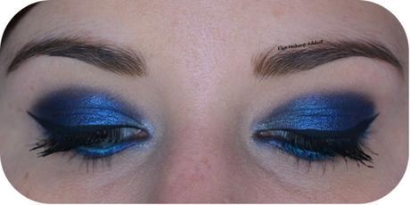 Deep Blue Makeup {Saint + Sinner de Kat von D}