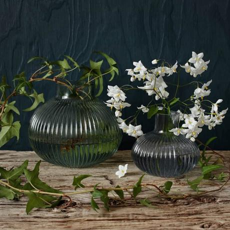 vases en verre Le Petit florilège via Nat et nature
