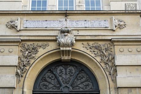 Ancienne entrée du Lycée Jean-Jaurès