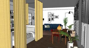 Aménager son studio pour accueillir bébé