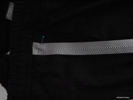 DIY mode – Customisation d'un pantalon avec des bandes latérales