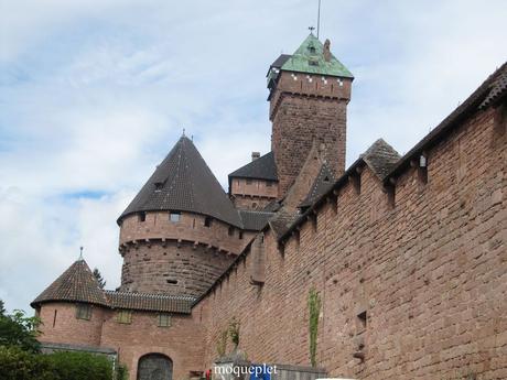 La France - Le château du Haut-Kœnigsbourg - 1