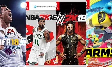 Les meilleurs jeux de sport sur Nintendo Switch