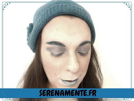 Maquillage Reine de glace ! Ice Queen pour le Art & Freak Show !