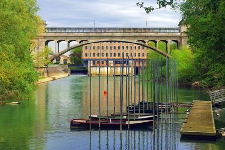 Le moulin Saulnier et le Pont Hardi © French Moments