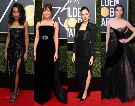 Golden Globes 2018 : belles stars que vous avez vu à la télé