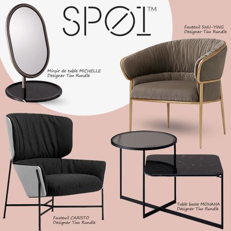 SP01 Design, la vision australienne du mobilier contemporain