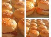 Mini burgers saumon thermomix kitcehnaid