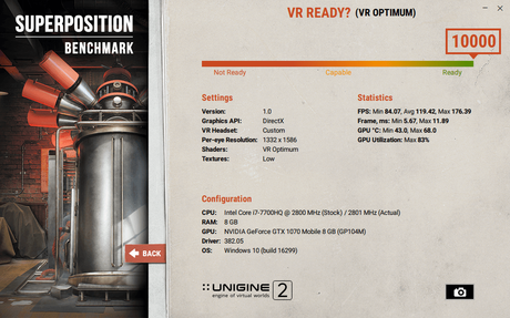 benchmark superposition msi vr optimum