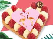 Saint Valentin Déclare flamme rose