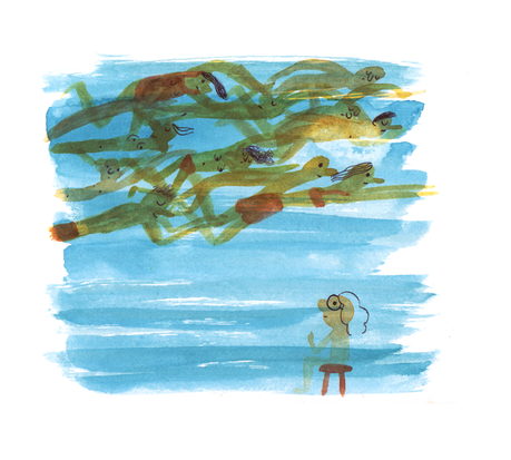 Puisque Janvier est aquatique, j'ai commencé une petite s...