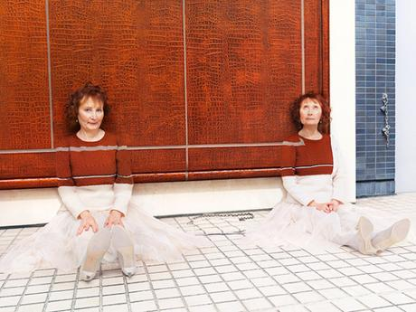 Knitted Camouflage, une série photographique de Joseph Ford