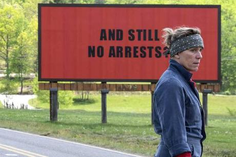 3 Billboards outside Ebbing, Missouri (Ciné)