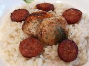 Risotto Saint-Jacques chorizo
