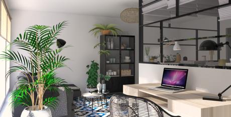 Téva Déco : transformer un studio en un 2 pièces fonctionnel