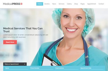 6 Theme WordPress pour les professionnels de santé
