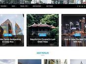 Thèmes WordPress pour créer joli blog voyage
