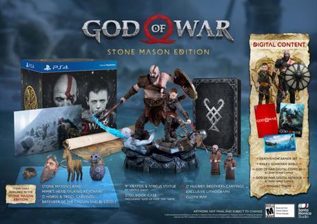 God of War -L'édition collector Stone Mason