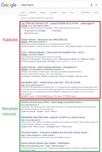 Qu'est-ce que le référencement naturel?